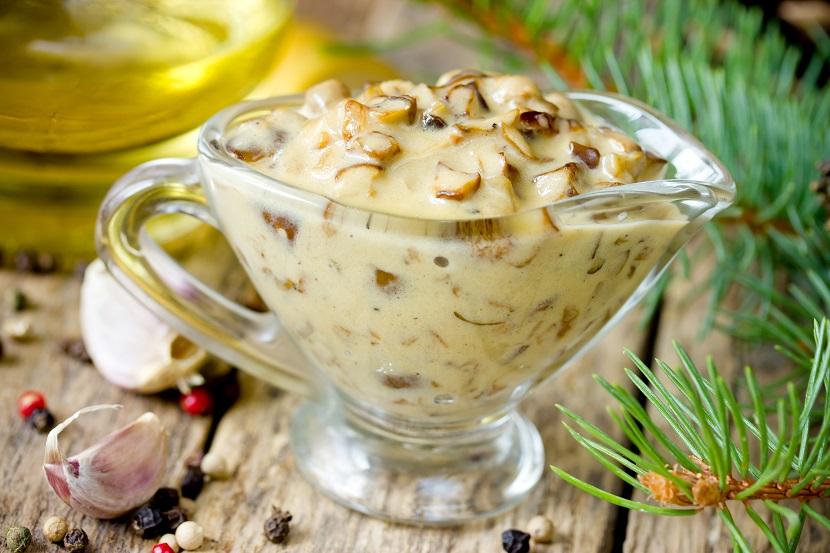 دستور آشپزی رژیمی – سس قارچ کم کالری