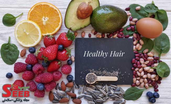 اثر ویتامین ها بر ریزش مو