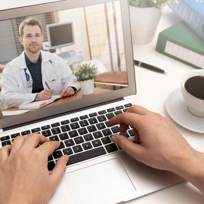 سلامتی از راه دور یا پزشکی از راه دور  (Telehealth or Telemedicine)