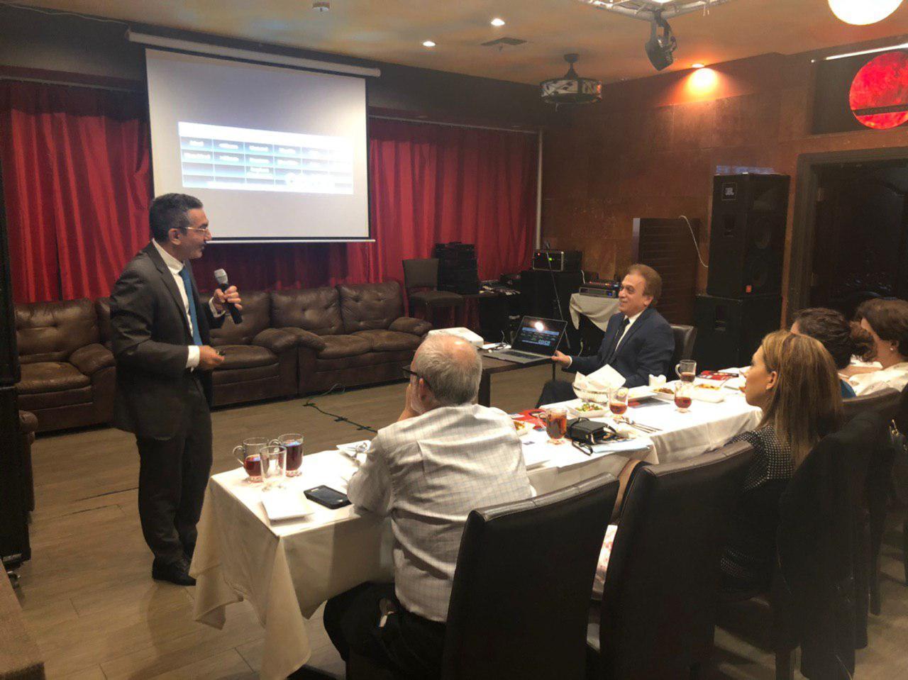 Iranian American Dental Association (IADA) monthly meeting