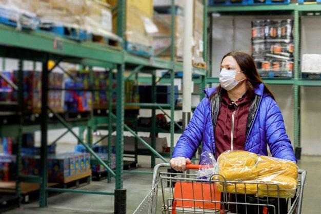 خرید مواد غذایی دوران ویروس کرونا
