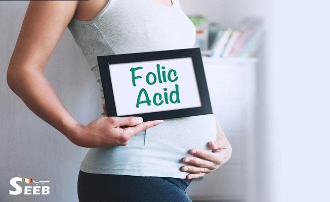اسید فولیک در بارداری تا کی مصرف شود