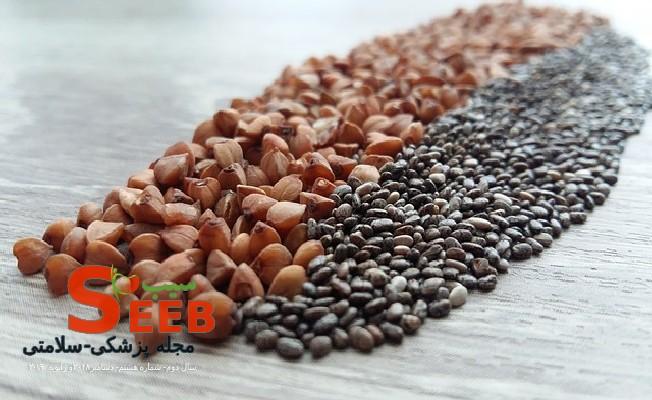 دانه چیا را چگونه مصرف کنیم