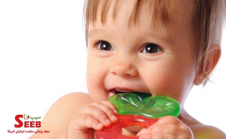 کاهش درد دندان درآوردن در کودک