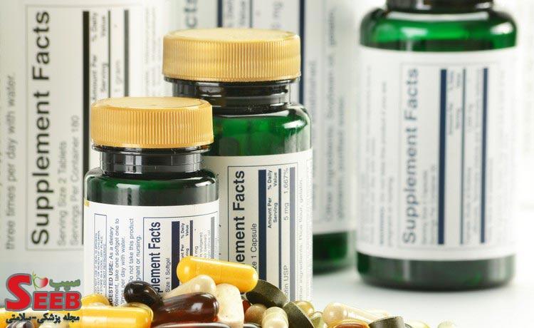 قرص supplement facts برای چیست