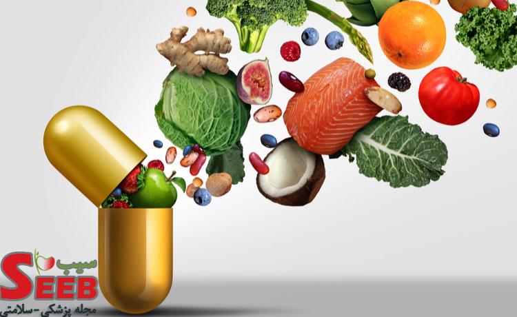 تاثیر ویتامین ها بر ریزش مو